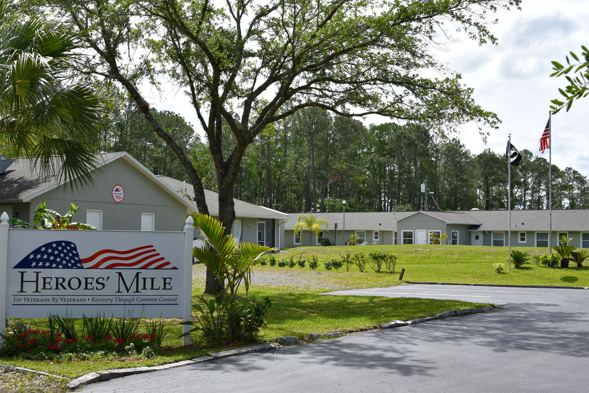 Heroes Mile recovery facility location