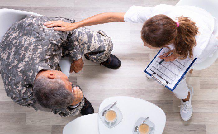 veterans mental health check