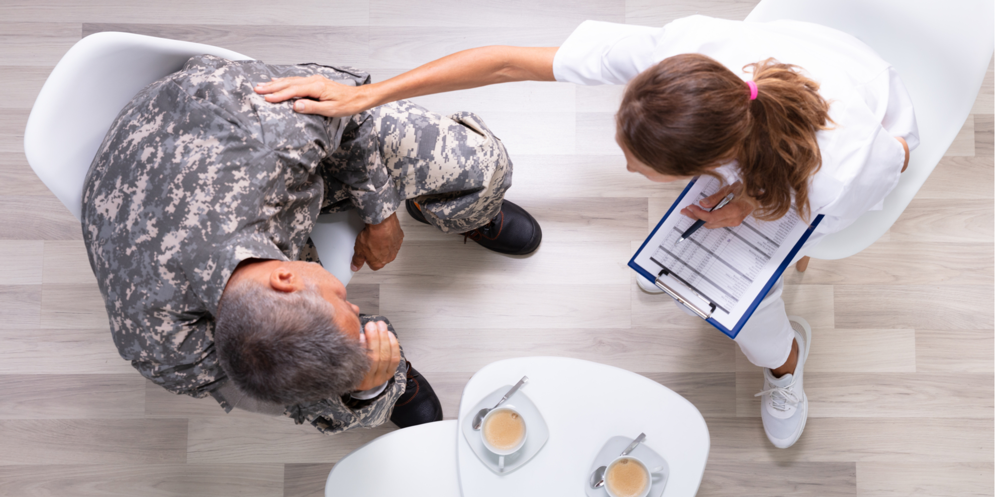 veterans mental health check